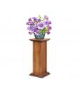 Wooden plant stand, wooden pedestal for sound boxes.