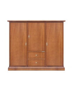 3 doors dining sideboard, cupboard, wooden sideboard, classic furniture, wooden furniture, sideboard for living room