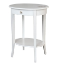 oval side table, coffee table, living room table, entryway side table, living room furniture, white side table, oval small table, italian furniture, italian side table, side table made in italy,