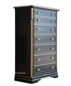 stylish chest of drawer, dresser, black furniture, wooden chest of drawers, black chest of drawers, wooden furniture,