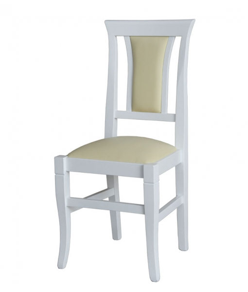 lacquered chair, Beech wood dining chair, kitchen chair. SKu VIS-318-BI