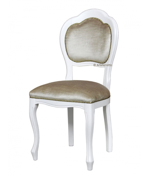Beech wood chair for dining room in classic style. Sku VIS-401-B
