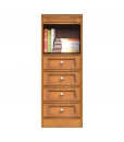 4-drawer modular sideboard, space saving sideboard, italian furniture, arteferretto