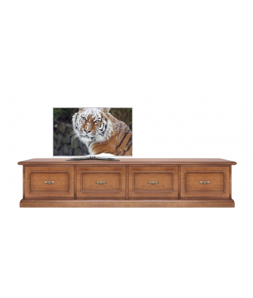 Wooden tv stand 4 soft close drawers. Sku MB-12