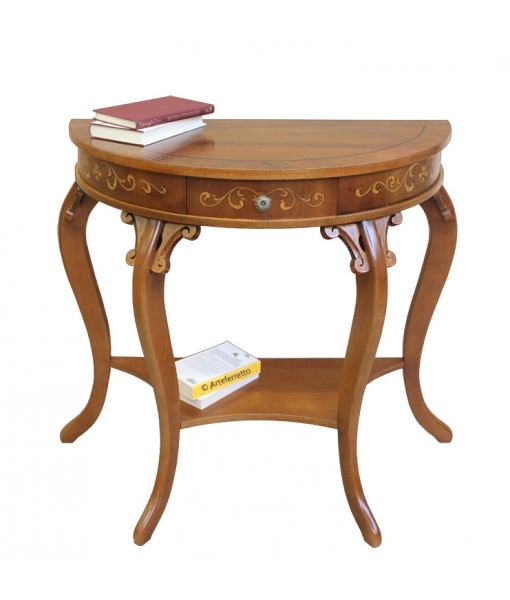 Charming console table in wood for entryway. Sku  UL-01