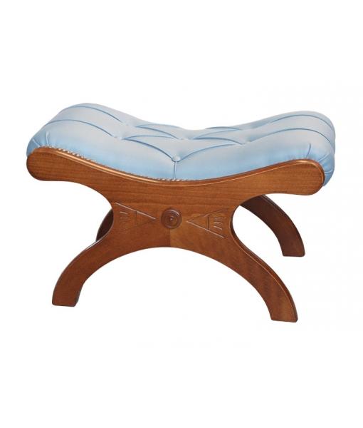 Padded footrest stool. Sku vis-sga