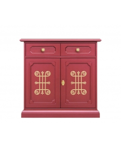 2 door wooden sideboard, living room sideboard, cupboard, dining sideboard, ruby sideboard, original italian design furniture,