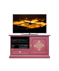 Ruby tv cabinet, wooden tv stand, living room cabinet, gold pattern, ruby furniture, italian design furniture, italian design cabinet,