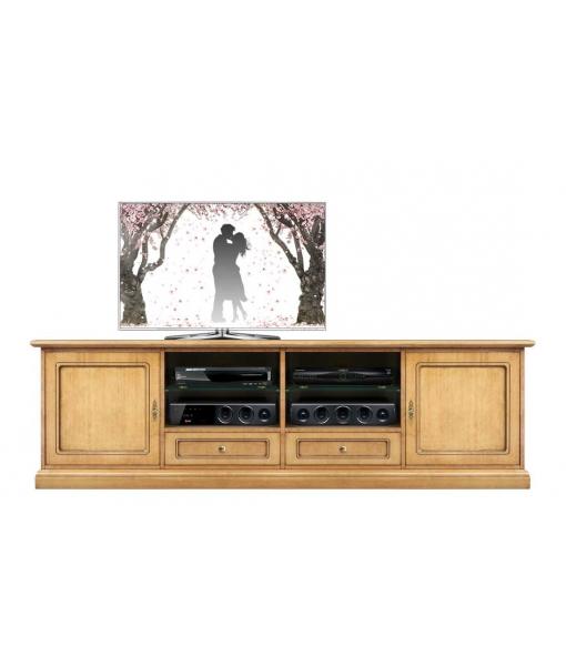 Wooden Tv unit for living room. Sku  4010-QP-BI