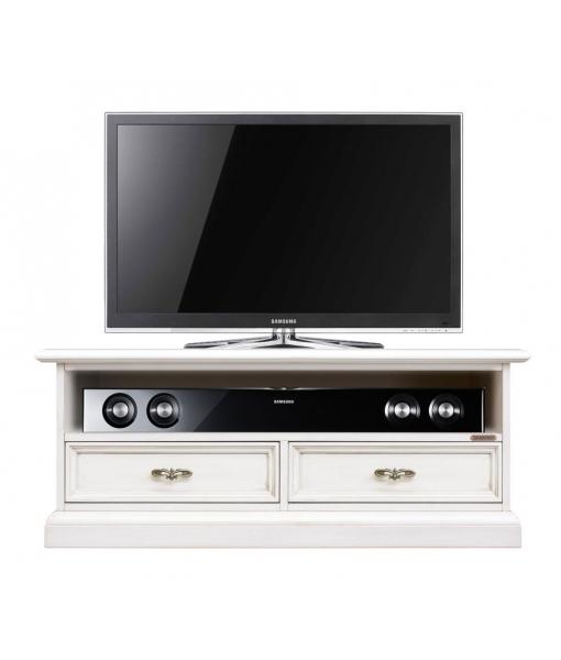 Low 2 drawer tv unit. Living room tv stand. Sku SB-106-AV-PLUS