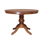 classic round table, extendable table, wooden kitchen table, dining table, classic table