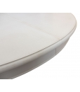 Round dining table, extendable round dining table, kitchen table, laquered table