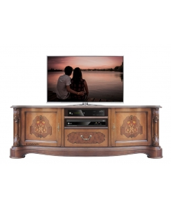inlaid tv cabinet, 2 door tv stand, wooden tv unit, solid wood furniture, original italian design furniture, decorated tv stand , classic tv cabinet, classic furniture, living room tv stand, living room furniture
