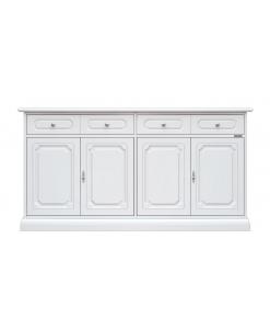 four door wooden cupboard, sideboard, 4 door sideboard, wooden furniture, living room furniture, dining sideboard, dining room furniture, classic sideboard