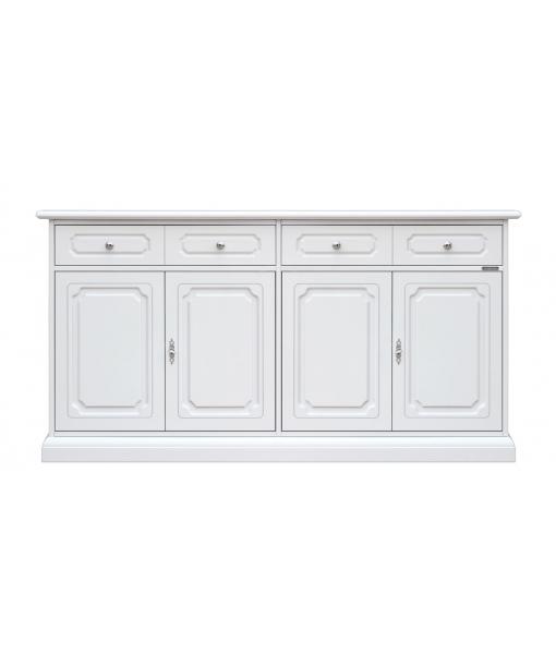 Four door wooden cupboard. Sku 3470-SAV