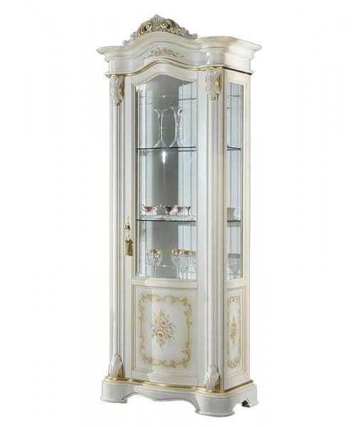 Decorated classic display cabinet. Sku af-1024-d