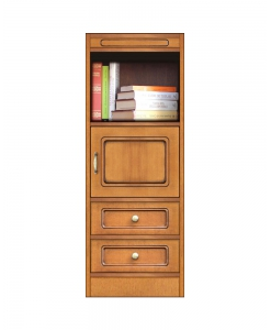Multi-purpose modular cabinet, 1-door 2-drawer cabinet, made in italy
