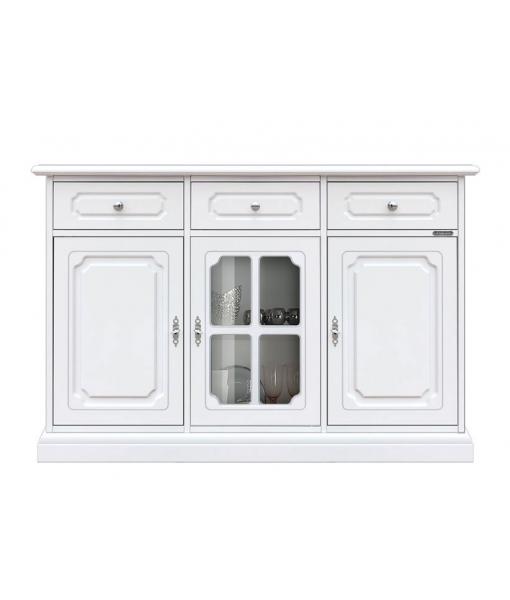 Dining room cupboard with glass door. Sku 3066