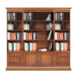 Modular wall unit with shelves, books storage, waal unit bookcase