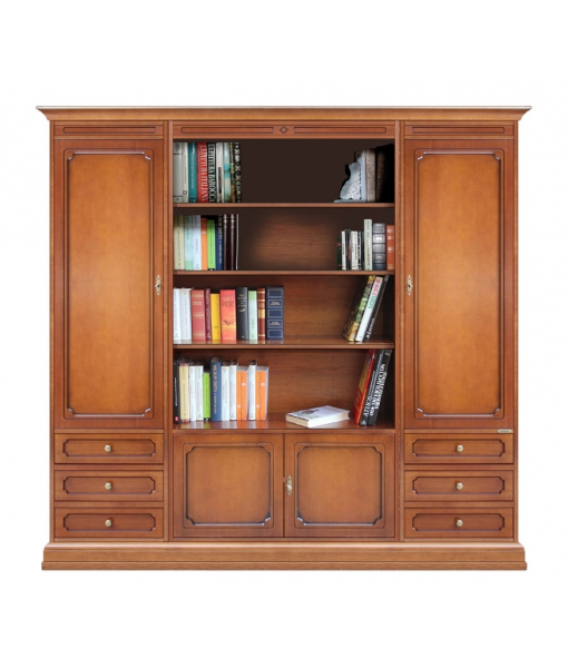 Wall unit with open central compartment sku 215-A
