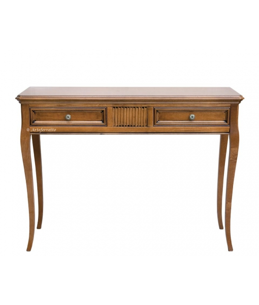 Rectangular console table in wood. Sku: F1-718-a