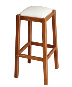 wooden kitchen stool, upholstered stool, classic stool, beech wood stool, classic stool