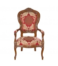 upholstered living room armchair, upholstered armchair, classic armchair, classic furniture, living room furniture, italian design armchair, solid wood armchair