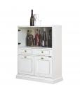bar cabinet, home bar, wooden home bar, wooden bar cabinet, small cupboard, small cabinet, dining room cabinet,