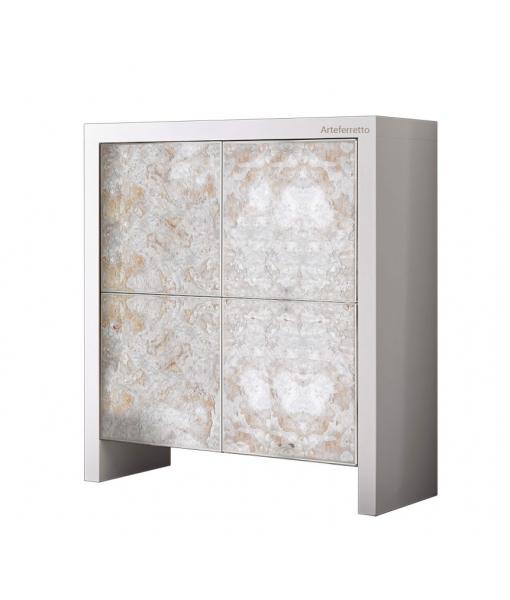 4 door modern cupboard. Sky f-04-rock2