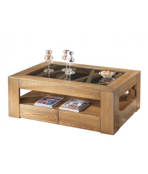Ash wood coffee table. Sku MG710