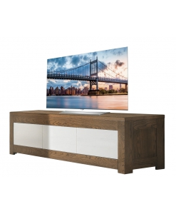 two tone tv stand, ash wood furniture, tv stand two colors, wooden tv cabinet, contemporary tv stand