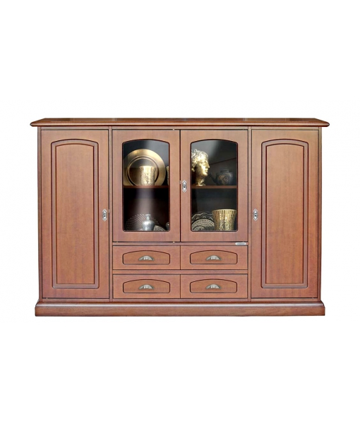 Dining cupboard with glass doors. Sku 3120-q