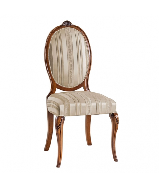 Oval backrest dining chair. Sku ms-01