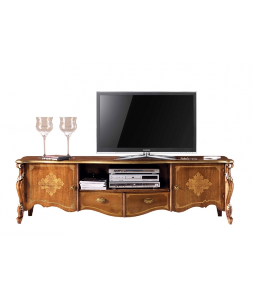 Inlaid tv unit in classic style, SKU: P-026