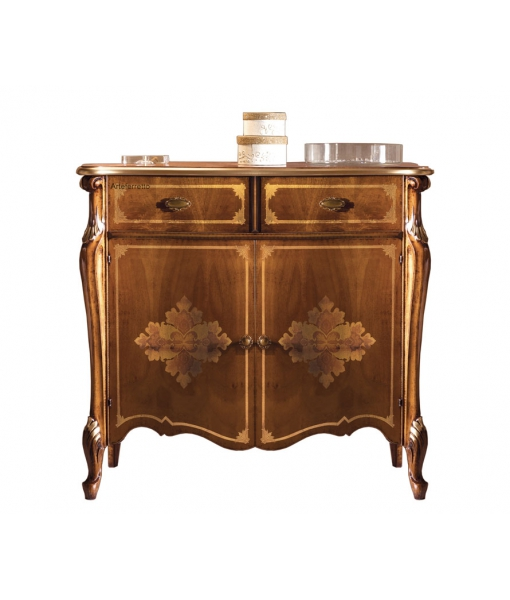2 door 2 drawer inlaid sideboard, SKU: P-028
