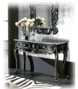 Beech wood console table, console table, entryway console table, wooden console table, black console table, hallway console table, rectangular console table