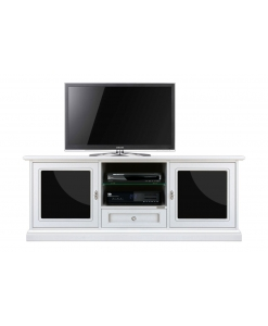 wood tv unit, wooden tv stand, living room tv cabinet, white wood, black and white furniture,