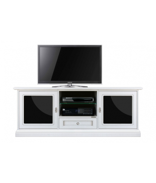 Wood tv unit. Sku 3059-bn