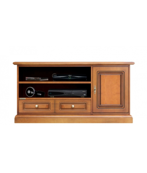 Wood tv unit for living room. SKu 3701-qb