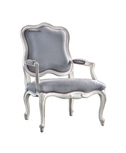 padded armchair, traditional armchair, upholstered armchair, wooden armchair, living room armchair
