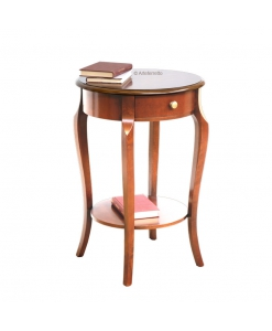 round lamp table, hallway table, side table, wooden side table, rounded coffee side table,