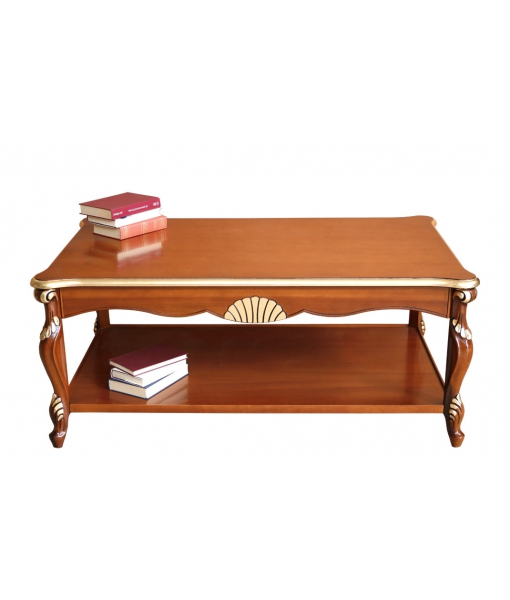 Rectangular shaped coffee table