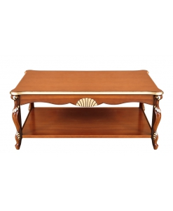 Rectangular shaped coffee table
