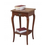 Square lamp table, side table, living room table, entryway side table, wooden side table, lamp table in wood