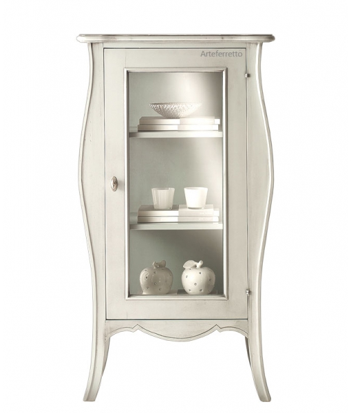 1 door display cabinet. Sku e-6903_styl