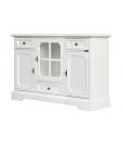 Dining room cupboard, wooden sideboard, 3 doors cupboard, white sideboard, dining room cabinet