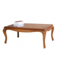 Living room rectangular coffee table, wooden coffee table, shaped coffee table, classic furniture, classic coffee table