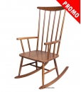 wooden rocking chair, rocking armchair, wood furniture