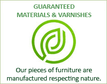 Guaranteed materials & varnishes