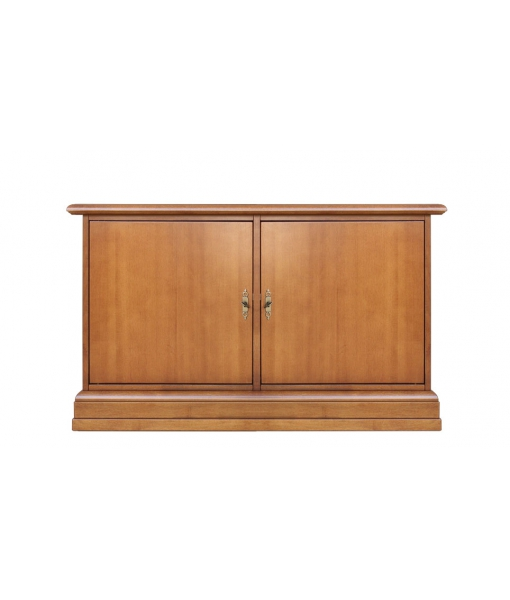 Low shoe cabinet in wood. Sku 3830-ap